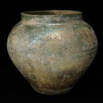 漢緑釉 壺