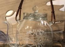 グラヴュール ガラス 冷茶用ティーポット