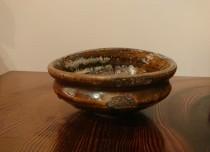 古高取 踏形茶碗